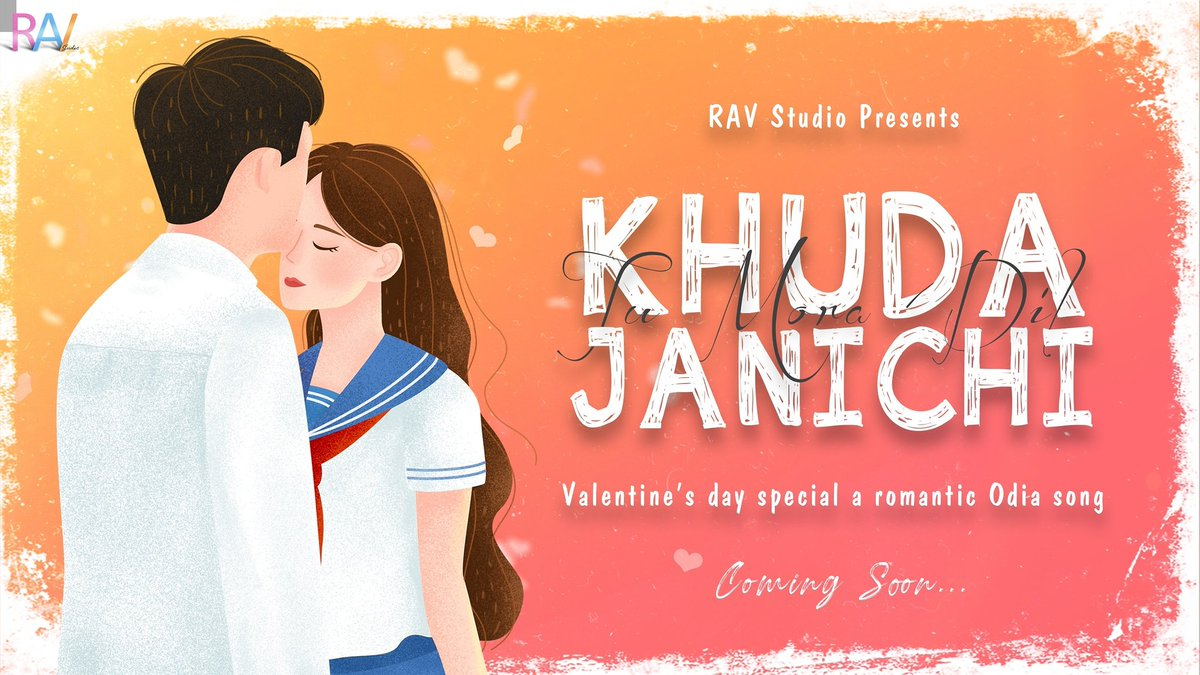 """#ravstudio #Romantic #odiasong #valentines #Valentines2020 On the eve of Valentine's Day we present you a Odia romantic song """"KHUDA JANICHI .... Tu Mora Dil """" on our YouTube channel RAV Studio.  It is our 1st Odia song. Support us by subscribing. https://www.youtube.com/channel/UCx6gmsPbgSjcCDki9-XoGew…pic.twitter.com/1eMNWKYm7C"""