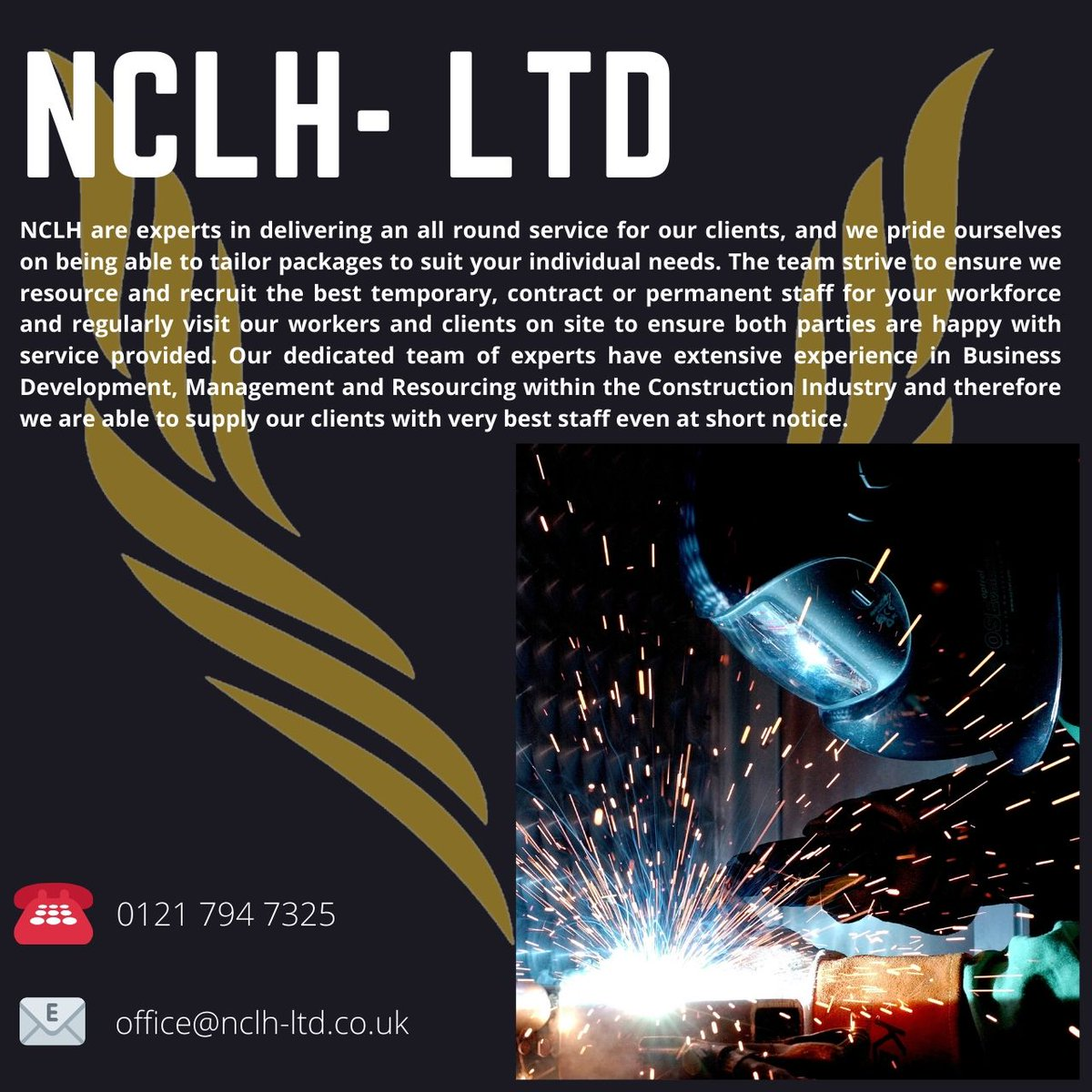 NCLH- LTD specializes in the supply of temporary and contract staff across a variety of industries, get in touch today for more information   #nclhltd #tempstaff #recruitment #constructionrecruitment #sitework #nationwidelabourhire #constructionworker #constructionUK #newjobpic.twitter.com/efPmAkJv8Z