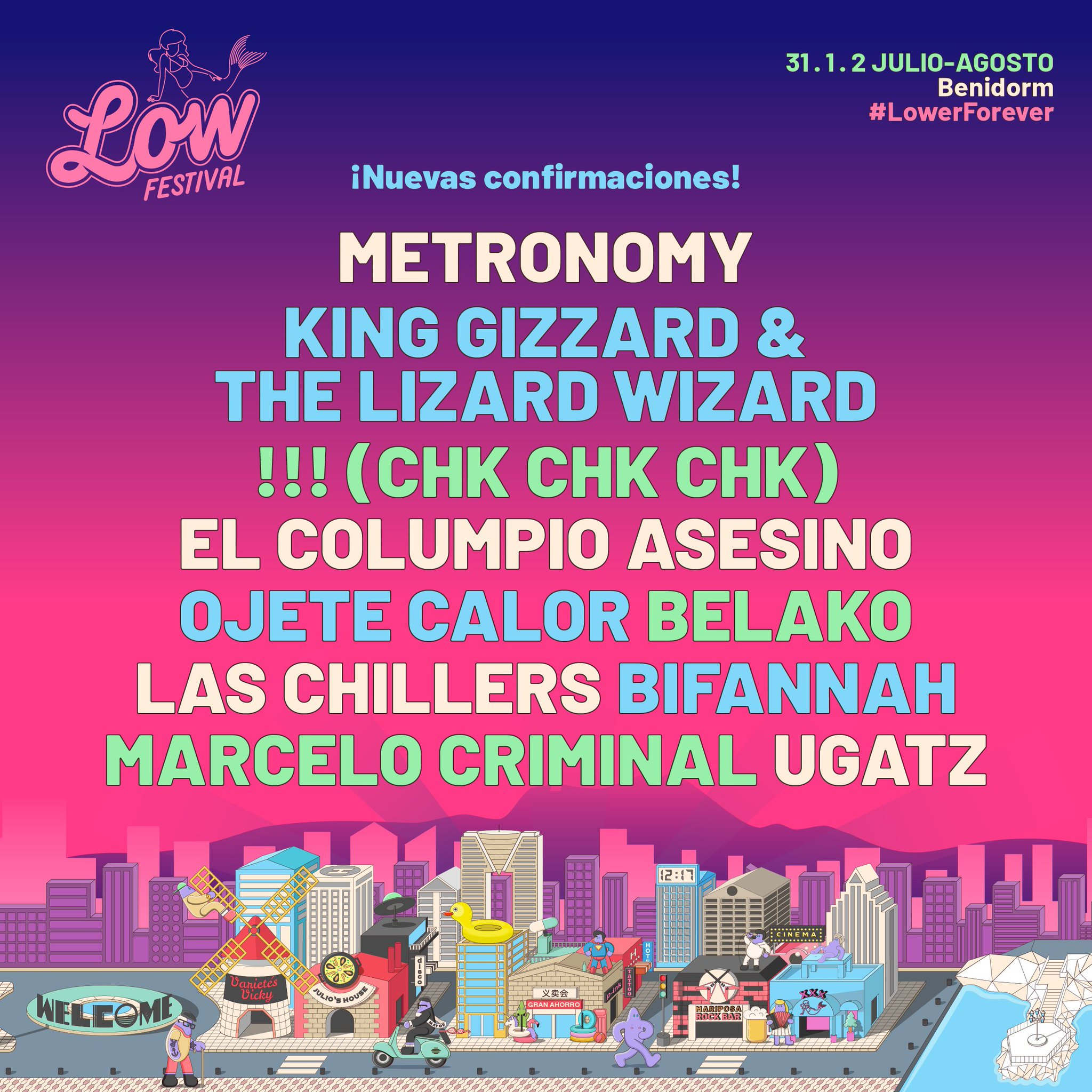 Low Festival 2020: King Gizzard, Fuzz, Primal Scream, Temples, Cigarettes after sex... EQfKUf3XkAAvcRs?format=jpg&name=large