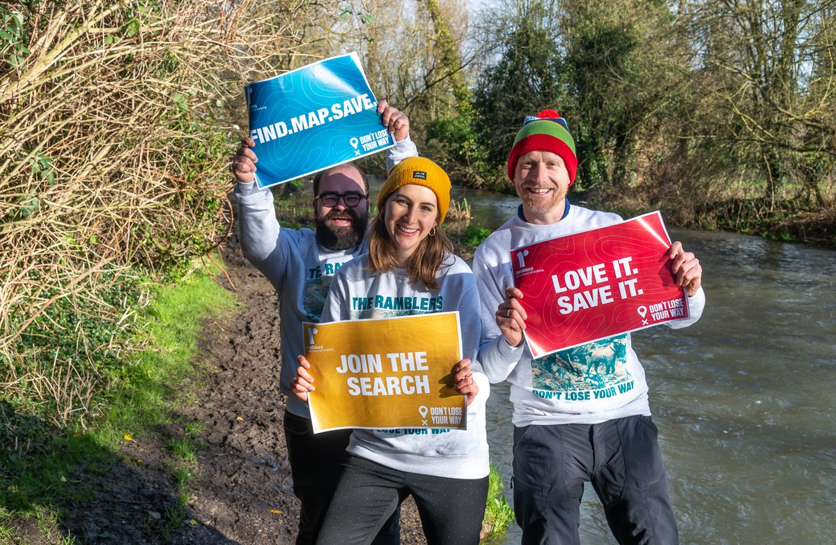 We need thousands of walkers, cartophiles, citizen geographers and history lovers to come together to uncover and save generations of lost paths and hidden ways before it's too late! ⏰🔎#DontLoseYourWay   Join the search➡️http://dontloseyourway.ramblers.org.uk/