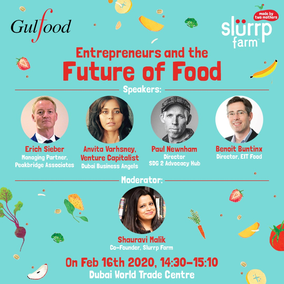 On 16th, @ShauraviMalik will be moderating the panel discussion focusing on a healthier tomorrow at @Gulfood hosted by @DWTC_official. For more, click:  #Gulfood #Gulfood2020 #dubai #dwtc #keynote #foodtech
