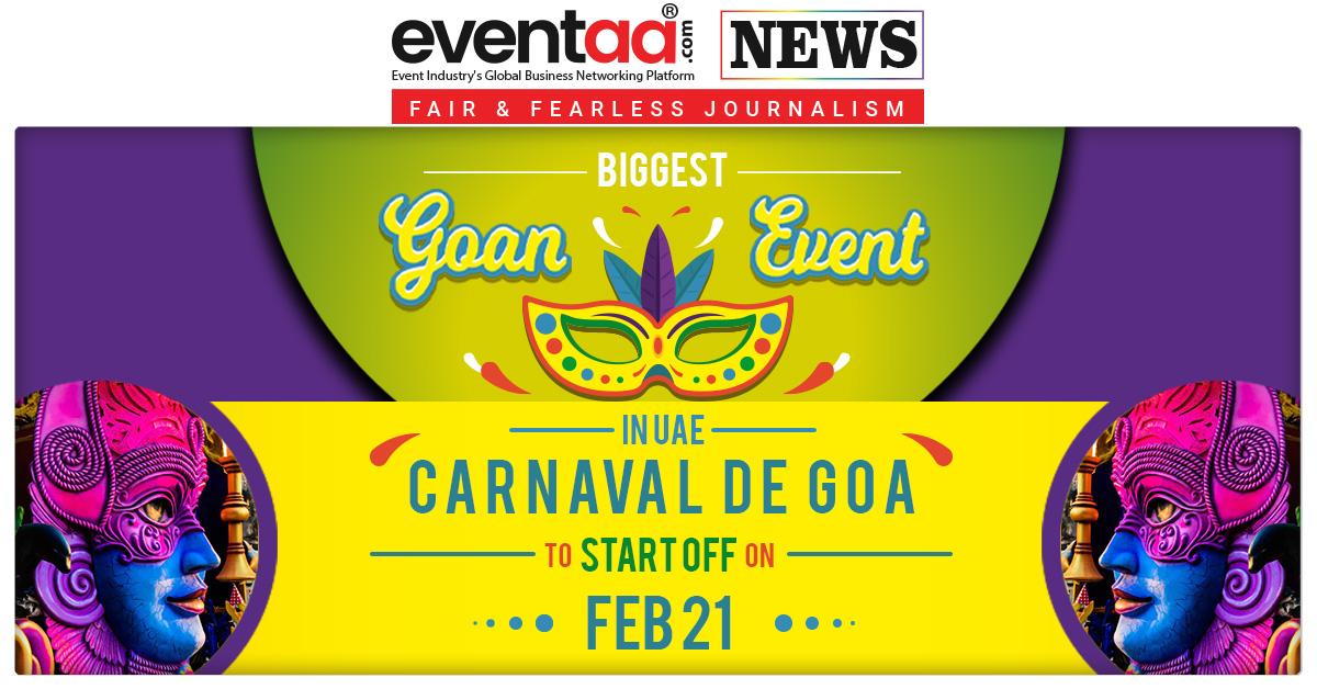 Biggest Goan Event In UAE : Carnaval De Goa To Start Off On Feb 21 Read More.: http://bit.ly/Eventaa1918 #GoanEvent #GoaCarnaval #GoanTraditionalEvent #Community #GoanFood #EventaaNews #UAE #AbuDabi pic.twitter.com/XaUrvklg79