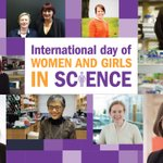 Image for the Tweet beginning: It's #WomenInScienceDay!  Everyday should be