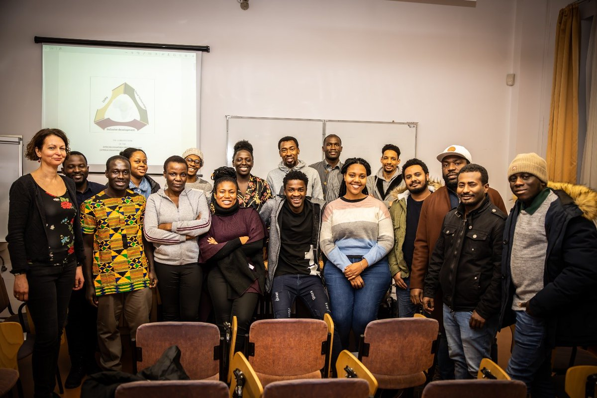 """African students at the #UniversityofSzeged 🇭🇺 have come together to form an Association called #AfricanDiasporaUnion (ADU) Hungary"""".  Learn about the union and membership here 👇   #SZTE #Szeged #Africa #StudentUnion #Hungary"""