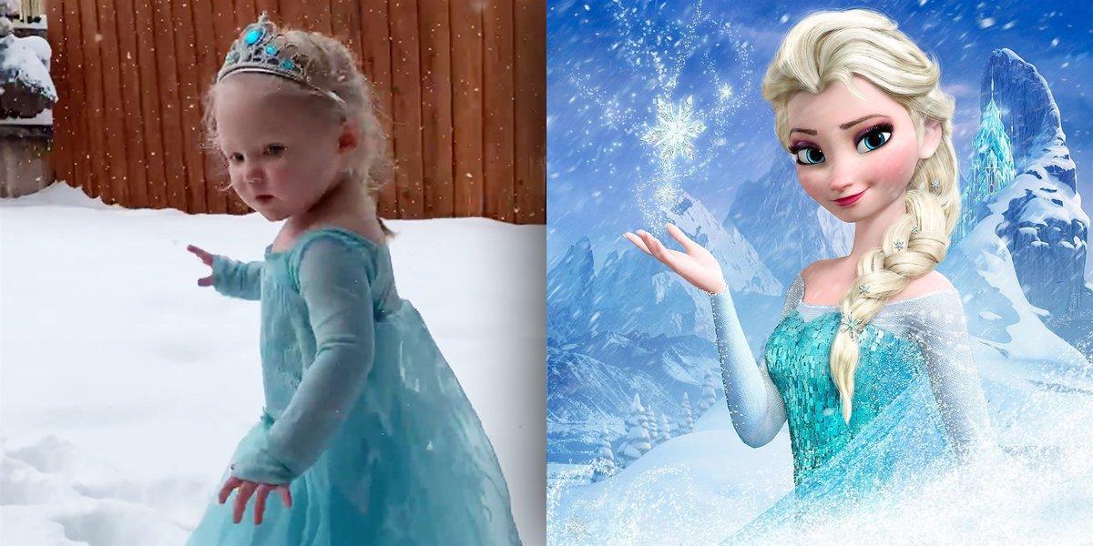 холодное сердце эльза в снегу фото онлайн-дизайнер внимательно выслушает