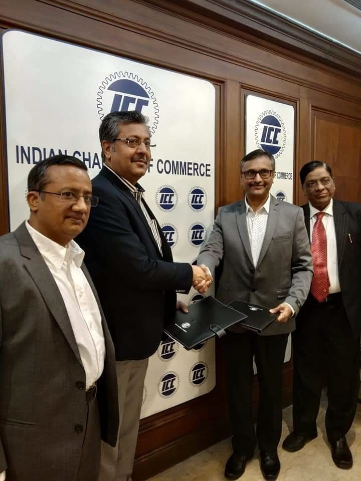 Mr. @arunladdha (Director- J.R.Laddha Financial Services Pvt Ltd) present at the MOU signing ceremony between the Indian Chamber of Commerce Kolkata and ANMI - Association of National Exchanges Members of India at Indian Chamber of Commerce Kolkata. https://t.co/VluSIHh4gL