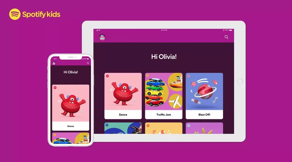 Spotify launches 'walled garden' app Spotify Kids to millions more users