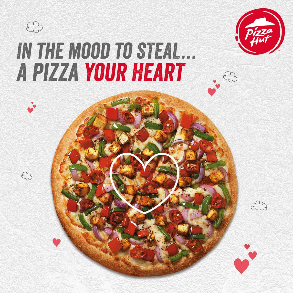 To what extent would you go to to express your love for pizza PizzaPerfectValentine PizzaHutJavenge https t