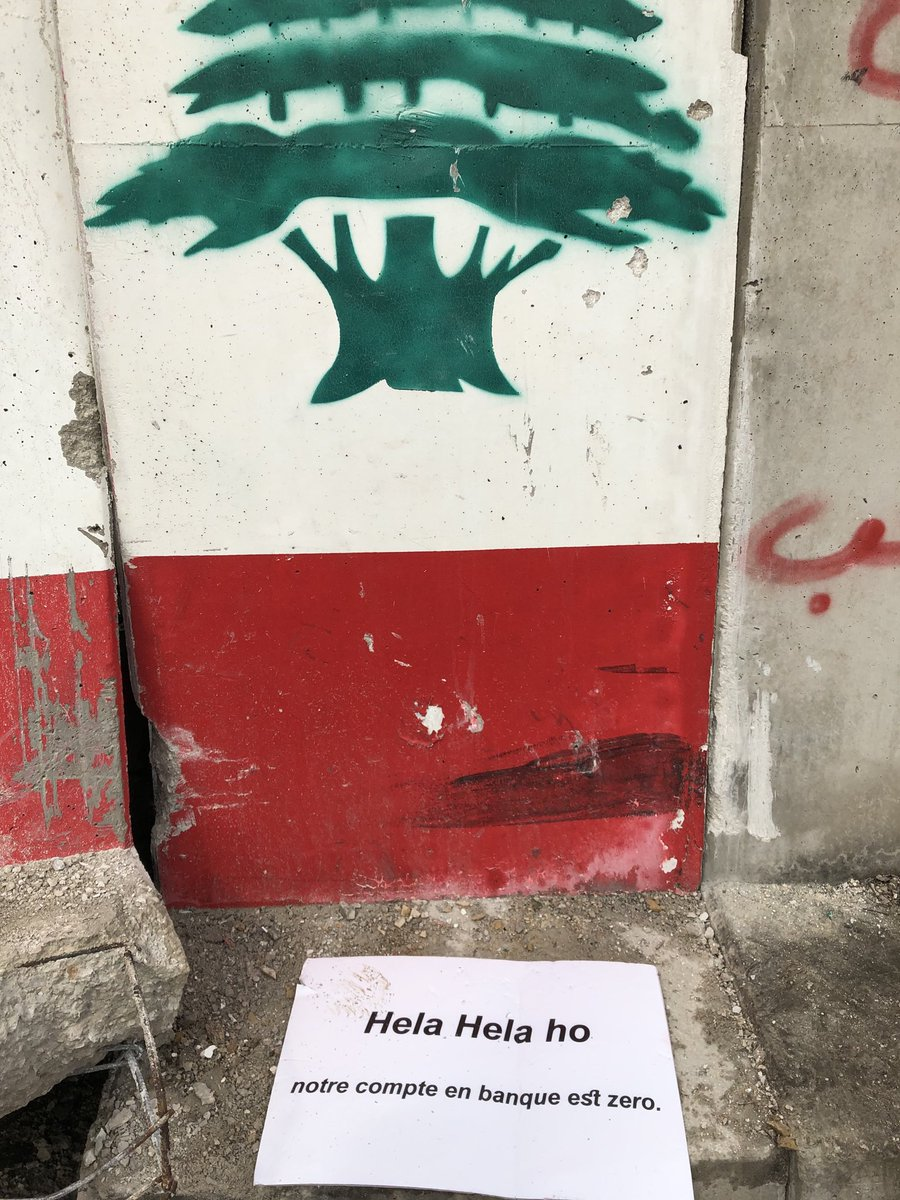 The Beirut Wall, Tuesday 11 February 2020.