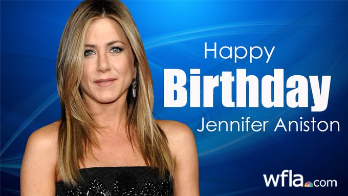 Happy Birthday to actress Jennifer Aniston who turns 51 today!
