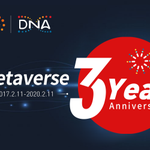 Image for the Tweet beginning: #Metaverse is celebrating the 3rd
