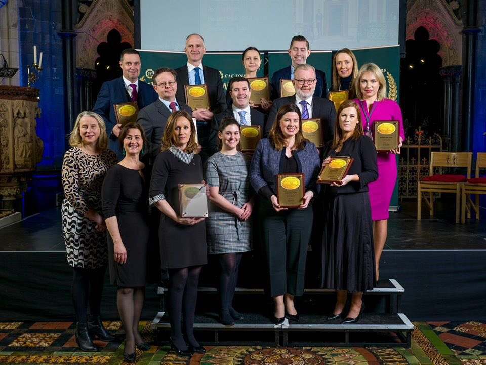 We recently received an Award of Excellence for 2019 from @cietours Thank you so much, we are thrilled to be listed among such wonderful properties. 🥳 Our wonderful GM Peter Collins pictured below, taking centre stage.🤩   #CIEAawards https://t.co/0tyO0Ess7M