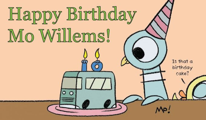 Happy Birthday Mo Willems!   Visit the link below to check out Mo\s get busy activities!