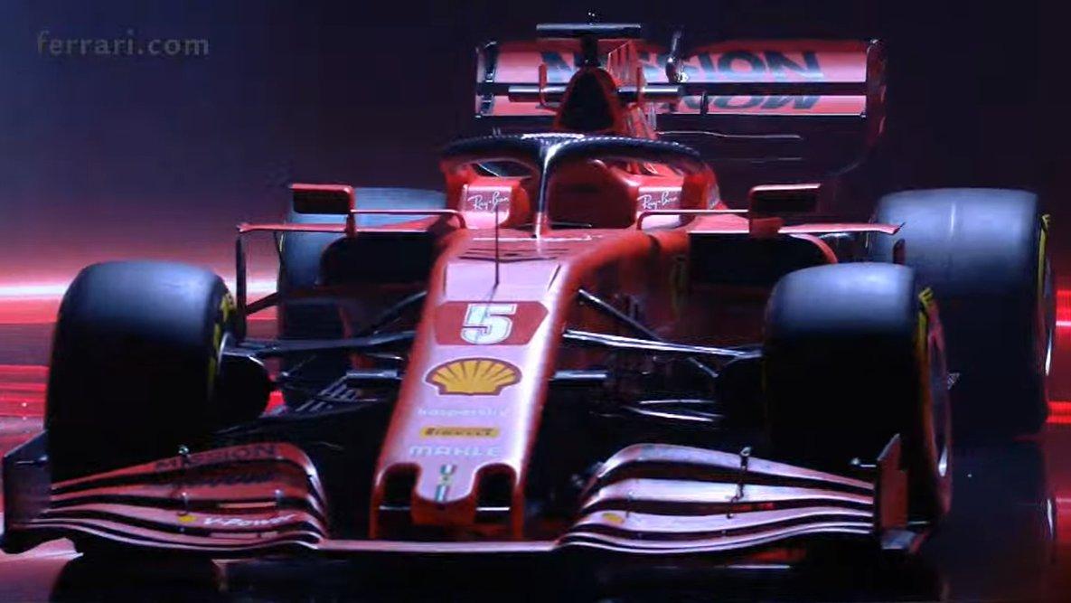 Sebastian Vettel 5 On Twitter Sebastian S 2020 F1 Car The Ferrari Sf1000 Vettel Seb5 F1