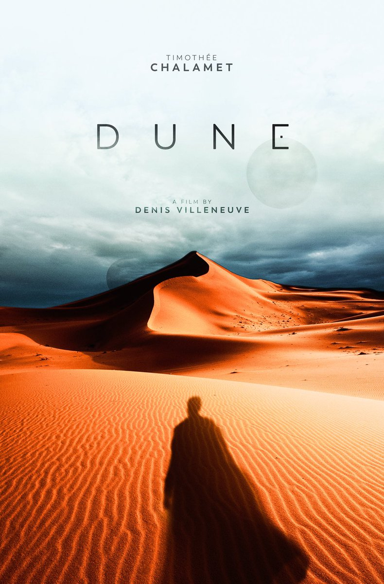 O Xrhsths Sg Posters Sto Twitter Here S My Tribute Poster For Dune A Movie I M Really Looking Forward To This Year No I Didn T Use The Leaked Logo But Made My Own