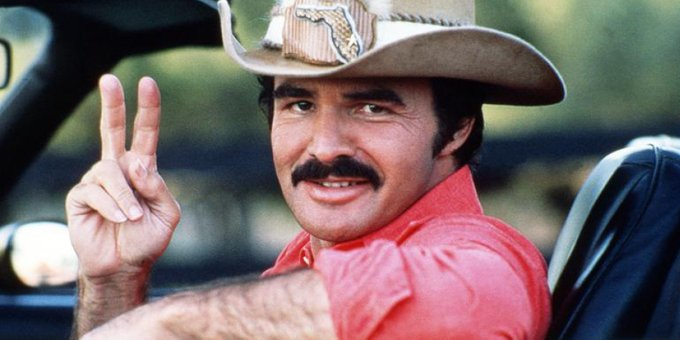 The Man. The Myth. The Legend. Happy Birthday to the late great Burt Reynolds!