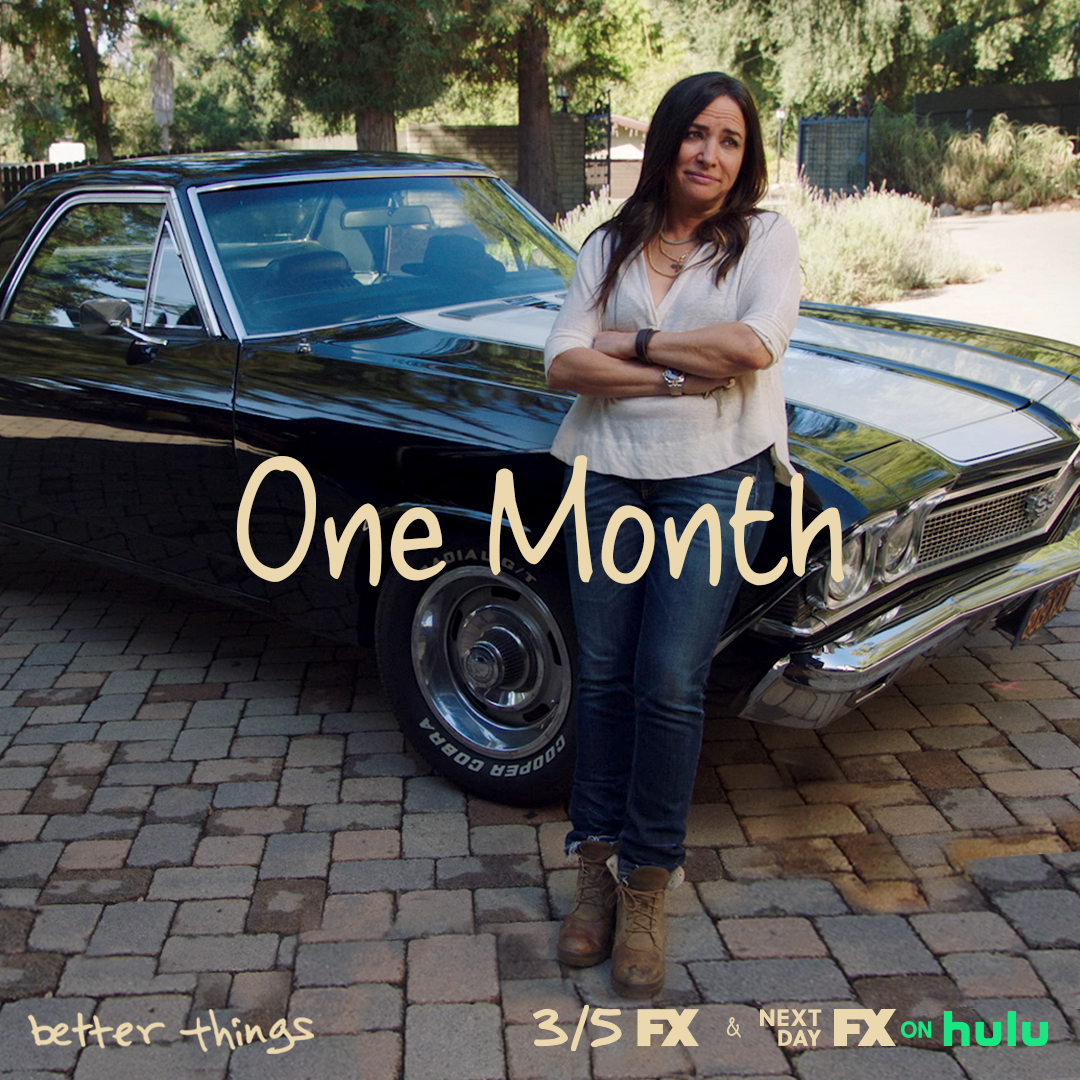 What midlife crisis? #BetterThingsFX returns March 5.