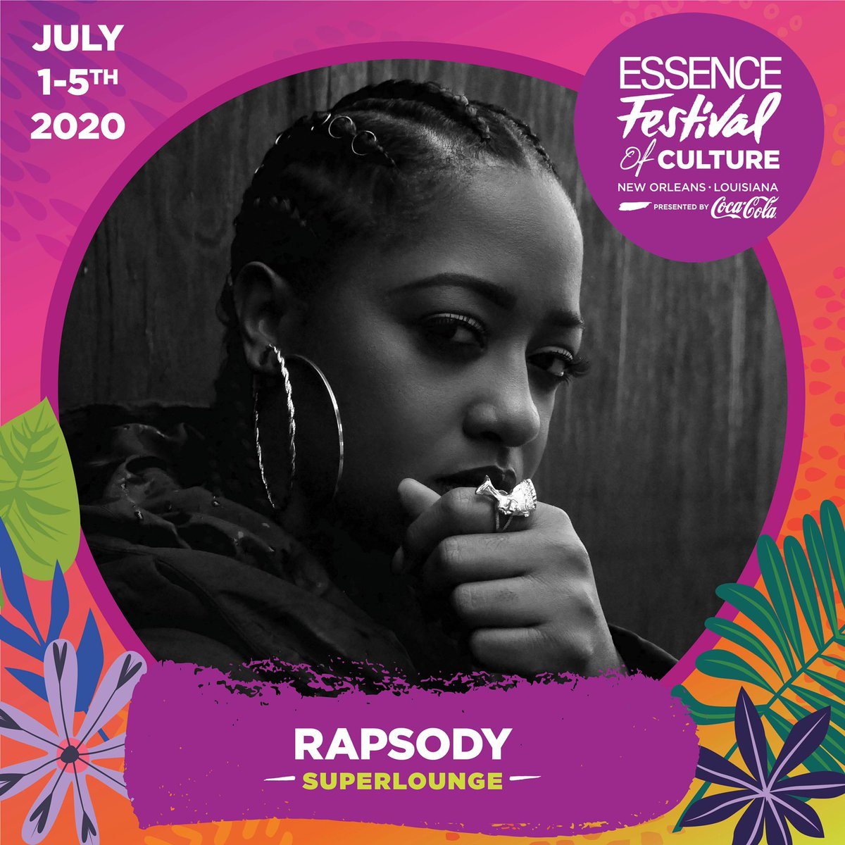 RT @rapsody: See y'all at @essencefest 😉 https://t.co/vQwHzf40Eg