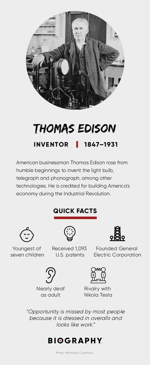 Today's #thomasedison's 173rd #birthday, one of our #Ohio born #heroes with #patents in #electricpower generation. We may not be as old as #Edison, but our 55 years in #transformer #management still is something to #celebrate! #happybirthday https://www.sdmyers.com/about/history/ pic.twitter.com/hTgTekijIY