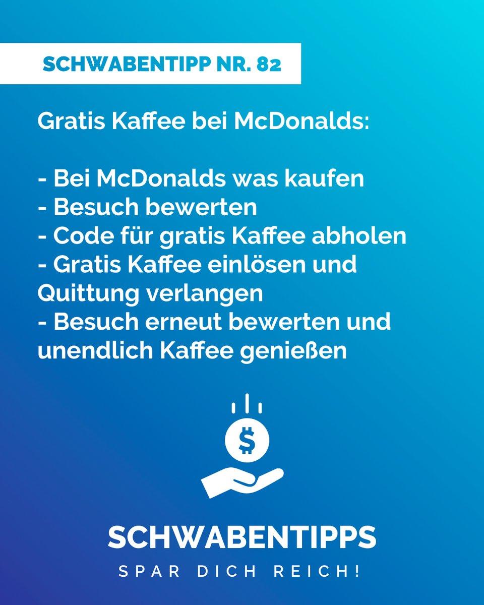 Besser noch: Nach der Quittung vom Gast vor dir fragen   Schick uns deine besten Schwabentipps als DM!  #schwabentipps #schwabentipp #spardichreich #sparen  #jodeldeutschland  #geizkragen #sparfuchs #spartipps #spartipp #witzig #morgenmuffel #kaffeepause #kaffeeliebepic.twitter.com/W1IlnpcD3B