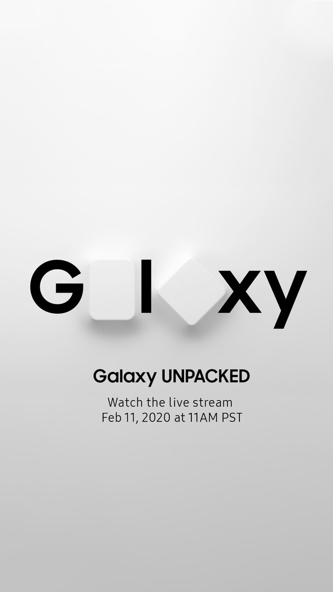 Galaxy UNPACKED - Watch the live stream February 11, 2020 at 11AM PST. Live on samsung.com
