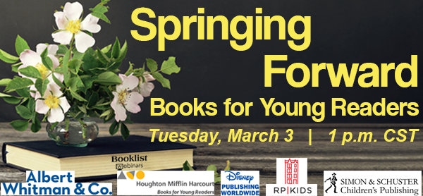Join us in this FREE 1-hour webinar hosted by @ALA_Booklist where well tell you why you should be excited about our new picture books! Sign up for the March 3 event here: bit.ly/3bn4vyJ