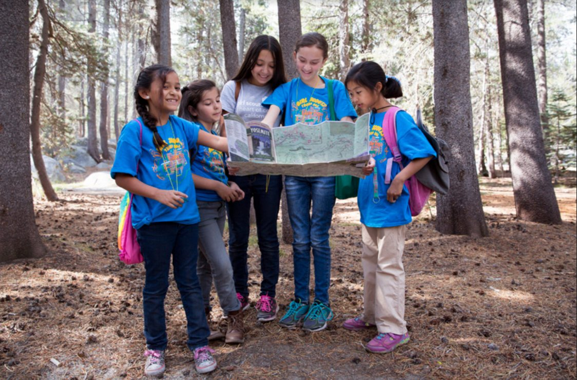 @girlscouts Learn more about the Girl Scout Ranger Program at nps.gov/subjects/youth… @NPSYouth #FindYourPark