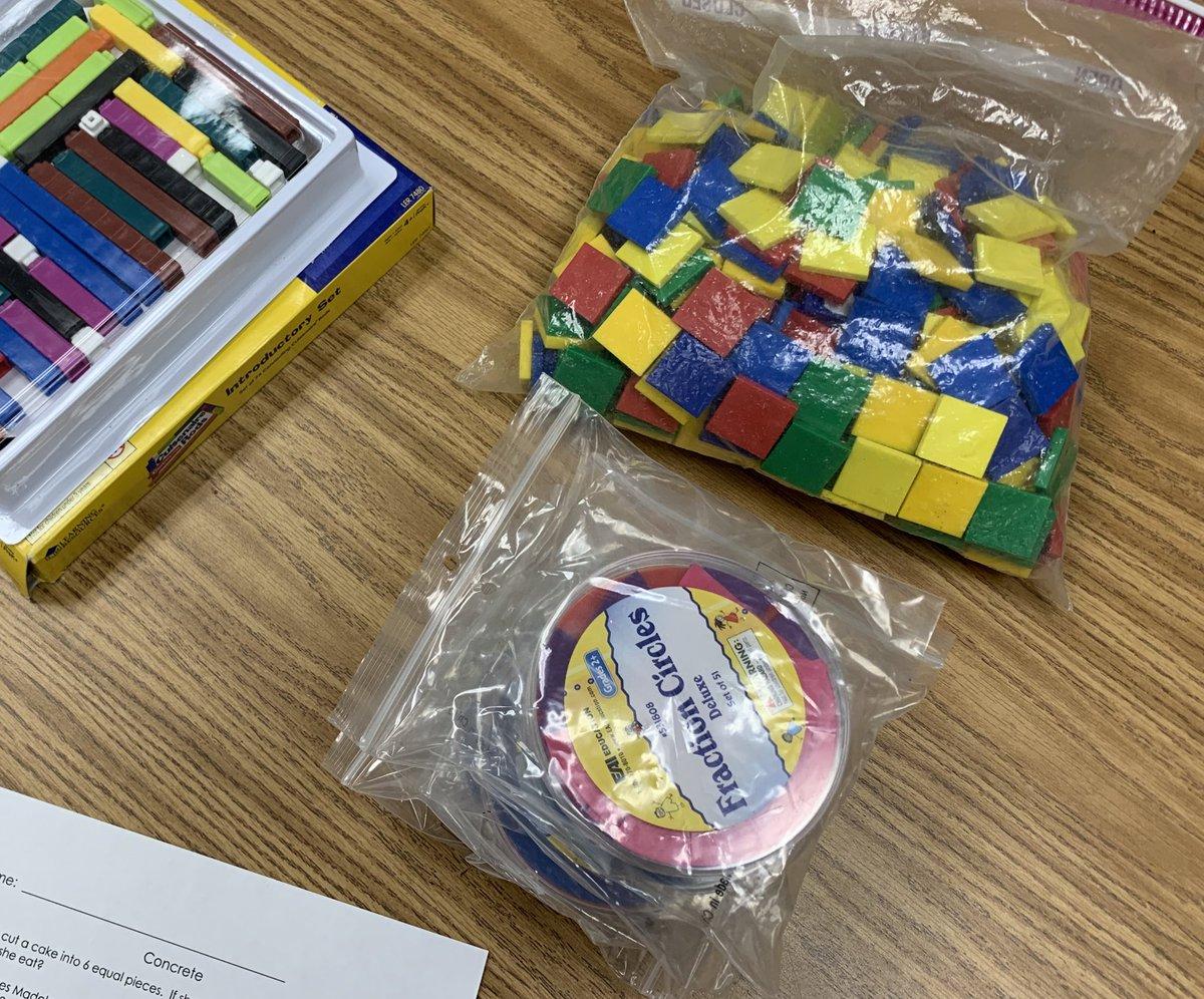 Prepping for our 3rd grade CRA Assessment! @Math_Solutions @MrsShaffer_gr4 @MrsCharlish