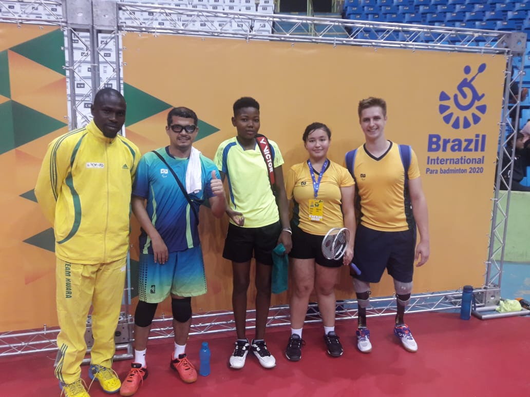 Aiming to qualify athletes from Africa to @Tokyo2020, BWF is supporting athletes from 🇳🇬 & 🇧🇯 to compete at the Brazil Para badminton International Tournament 2020 in Sao Paulo, through our NPC Development Programme. Well done! 🏸 📸: @CBBdOficial