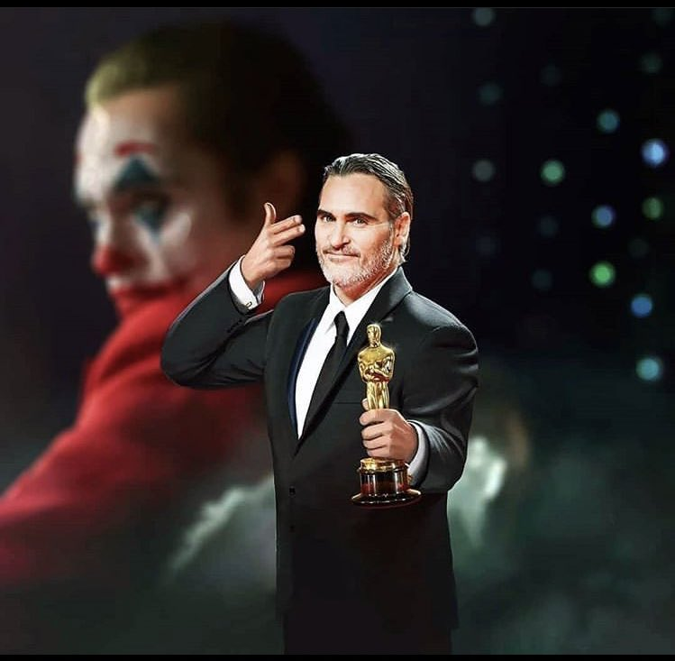 You get what you fucking deserve....! #JoaquinPhoenix #AcademyAwards #Joker pic.twitter.com/7kbNjtPrdr