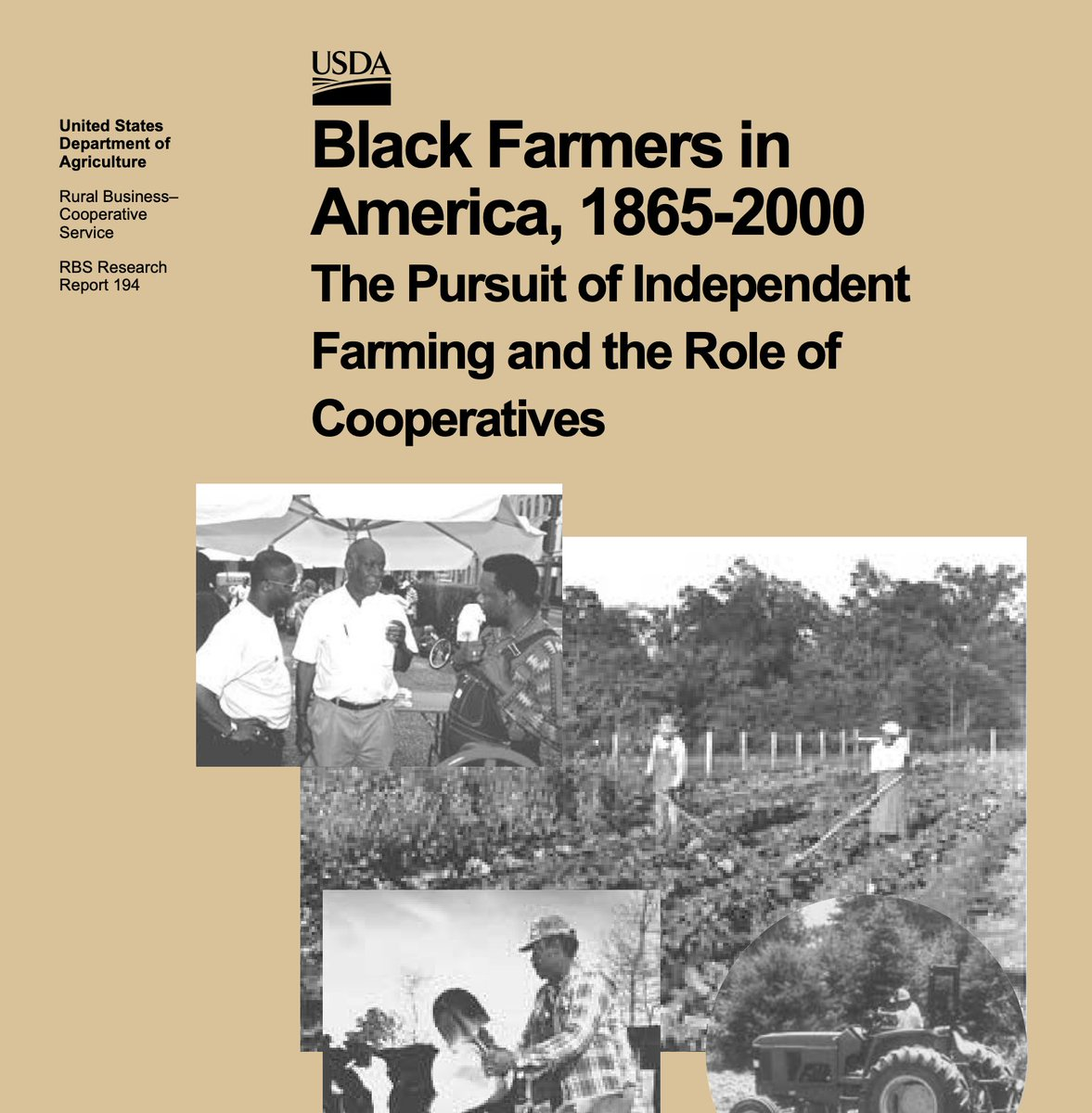 """Diminished civil rights also limited collective action strategies, such as cooperatives and unions. Even so, various types of cooperatives, including farmer associations, were organized in black farming communities prior to the 1960s."" https://t.co/T9JjMiT7RR #BlackHistory https://t.co/kWtNBRakJ4"