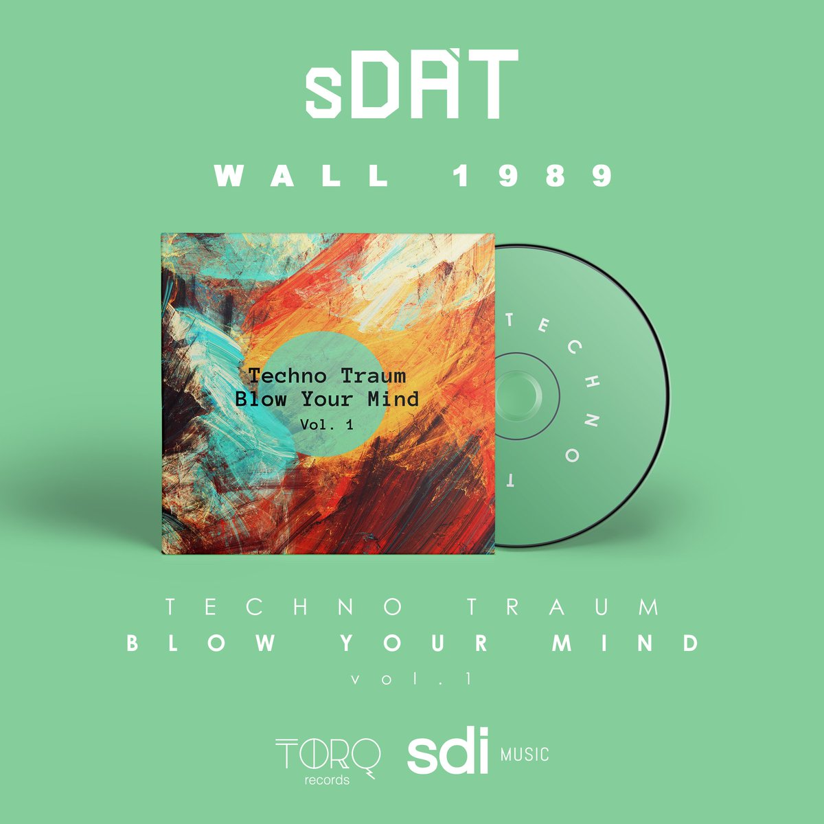 Wall 1989 by Sdat, is on the Techno Traum Blow Your Mind Compilation and the genre of the track is techno.  #techno #berlin #deutschland #berlinwall #berlinmusic #technomusic #night #life #recordlabel #subculture #track #newtrack #wave #street #electro #electroclashpic.twitter.com/zn9FBS2Zk4
