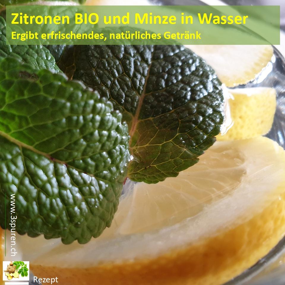Minze und Zitrone zur Gewichtsreduktion