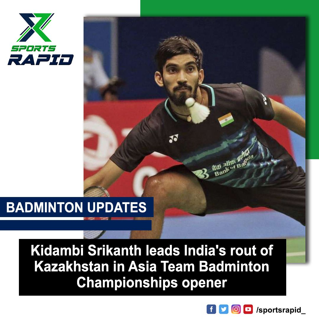 Former world number one Srikanth, the up and coming Lakshya Sen and Subhankar Dey won their respective singles matches easily.#indianbadminton #badminton #pvsindhu #badmintonindia #pbl #badmintonworld #india #sainanehwal