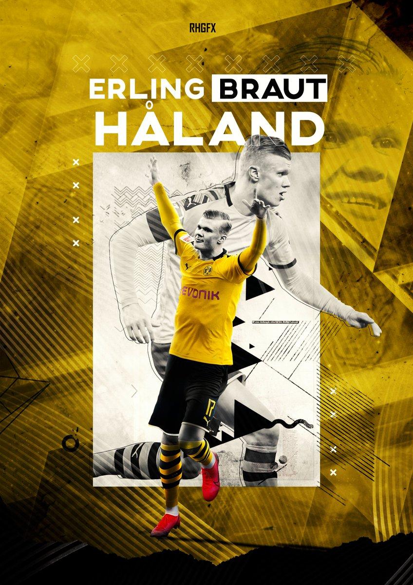 Rhgfx On Twitter Erling Braut Haland Dortmund Wallpaper Bvb Dortmund Haland Onfire Bundesliga
