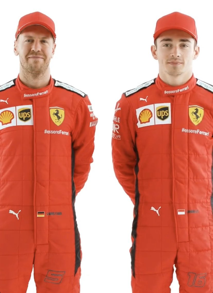 Charles Leclerc Fan Page Auf Twitter The 2020 Scuderiaferrari Racing Suits F1 Charles16 Sf1000