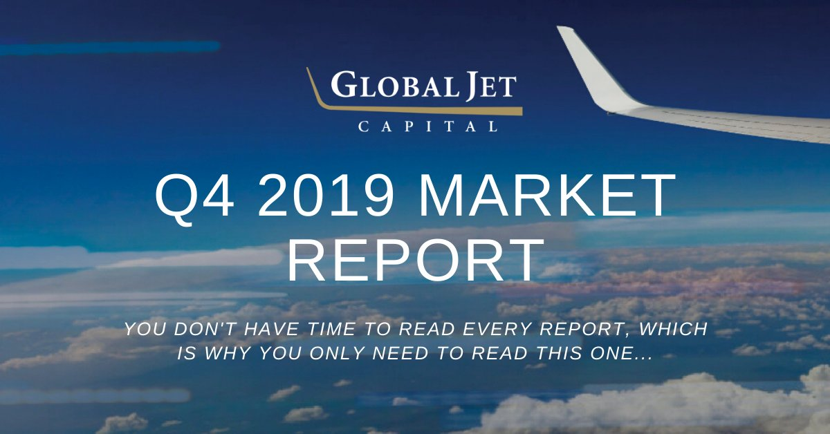 For the latest insights on business aviation market conditions and trends, download the Global Jet Capital Q4 2019 Market Report here: hubs.ly/H0mZGn60. #businessaviation #bizav #aviation