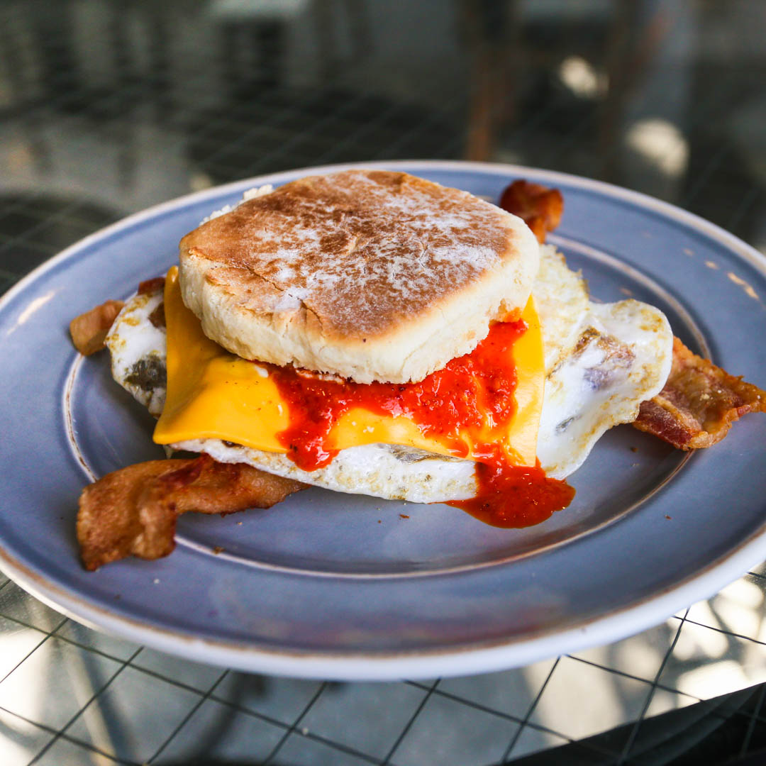 We'll be 5 minutes late to work because you gotta risk it to get the biscuit. @kacatering 's biscuit breakfast sandwich that is! Make sure to ask for some of their delicious housemade hot sauce at their CENTER STREET ANAHEIM location. https://t.co/yMIN9tsOgs