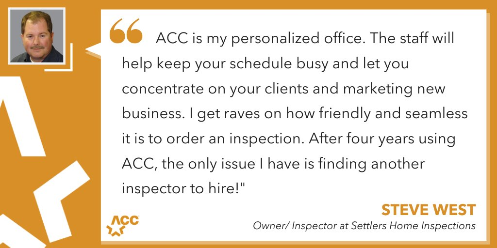 """...the only issue I have is finding another inspector to hire."" As far as issues go, we can live this one! Thanks for the kind words Steve! It's been our honor to help you grow your business. Here's to an amazing 2020! #inspector #inspection #homeinspector #inspectionbusiness pic.twitter.com/C96Orx847P"