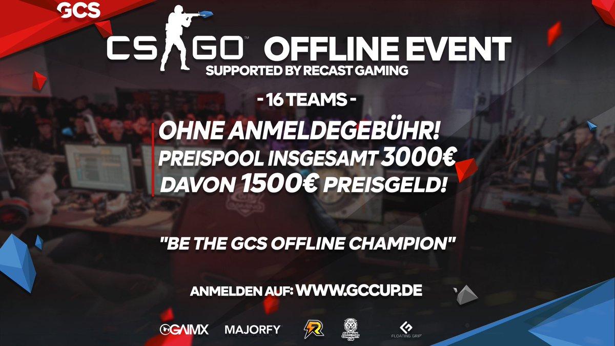 7. & 8. MÄRZ 2020 - CS:GO German Community Series  FREE ENTRY >> http://www.gccup.de Offline spielen im März und die Chance auf 3000€ Preispool haben! Werde Teil der GCS und beweise dich!   supported by: @gaimx_germany @gaming_recast @Floatinggrip @MAJORFYDEpic.twitter.com/5BwuqrCpRN