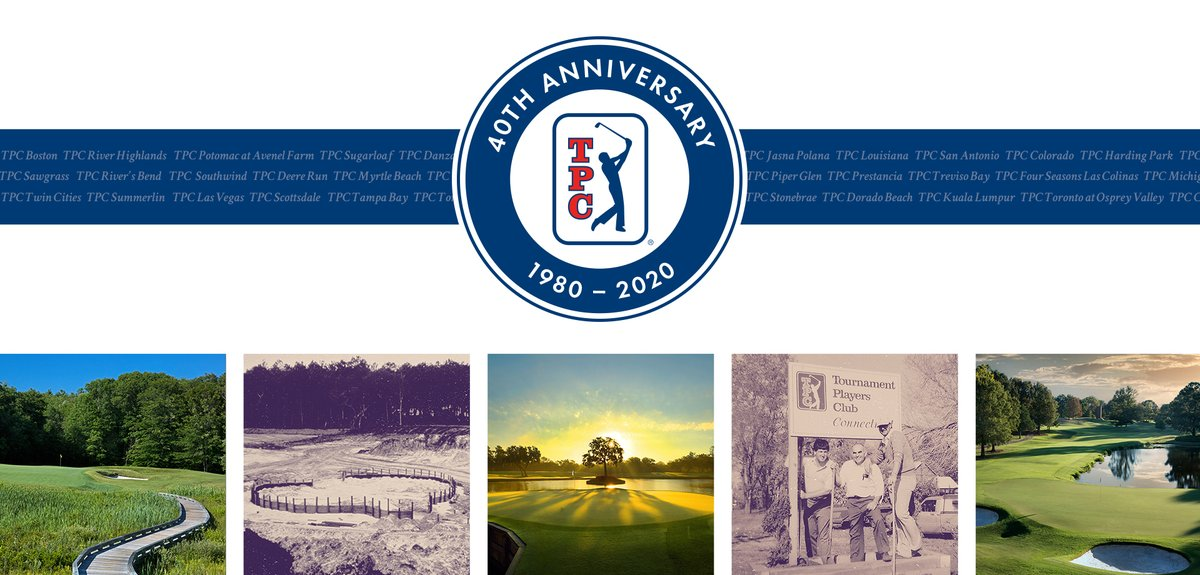The TPC Network is celebrating its 40th anniversary! TPC Boston has been a proud Member of the TPC Network for 18 years, where our Members walk the same fairways and tee of from the same spots as some of the greatest who have ever played.  Learn more: https://t.co/M4b1MbhnId
