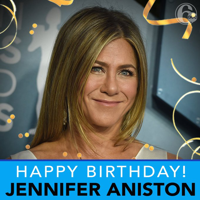 """I\LL BE THERE FOR YOU!\"" Today we are wishing Jennifer Aniston a very happy 51st birthday!"