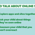 Image for the Tweet beginning: Talking openly with your child