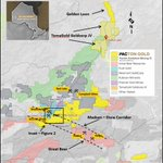 Image for the Tweet beginning: Pacton Commences Drilling Targets Along