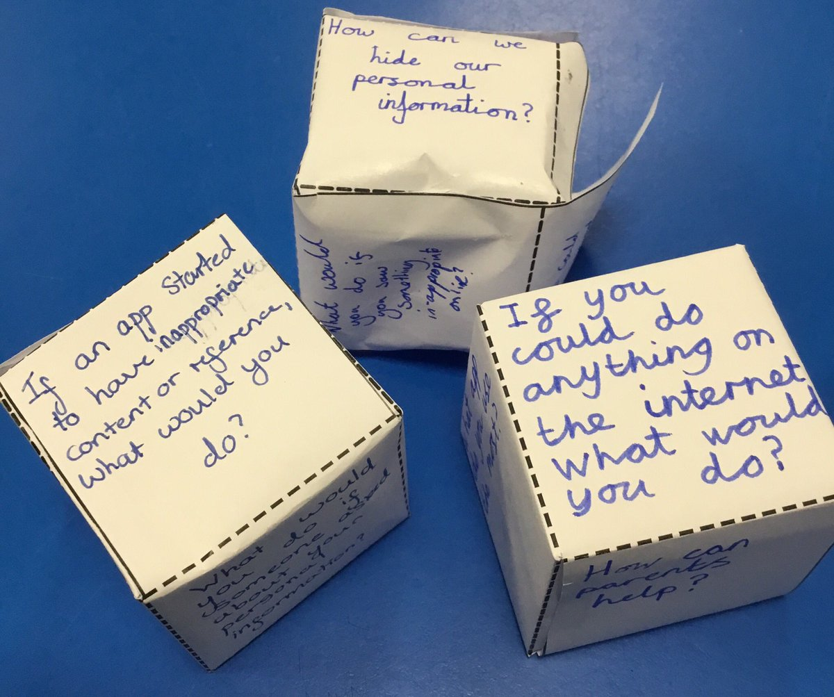 test Twitter Media - Our question cubes created some good discussion and useful answers about our internet use #gorseycomputing #SID2020 https://t.co/fc7fzjlYKz
