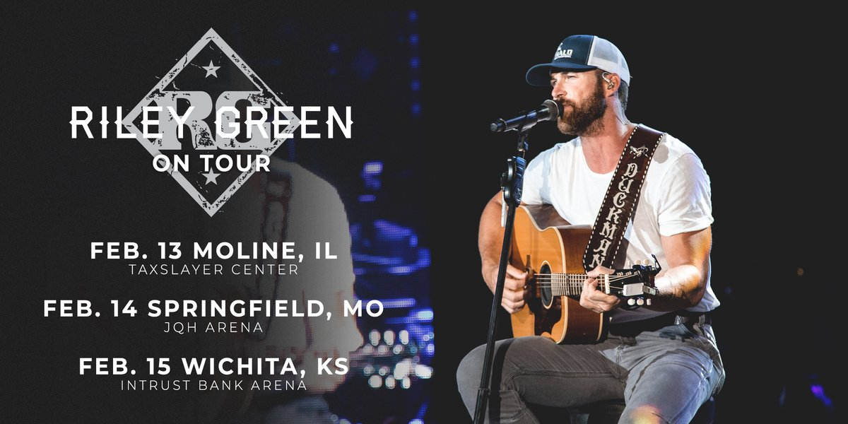 Illinois, Missouri and Kansas..y'all are up next. rileygreenmusic.com/tour #webacktour #countrymusic