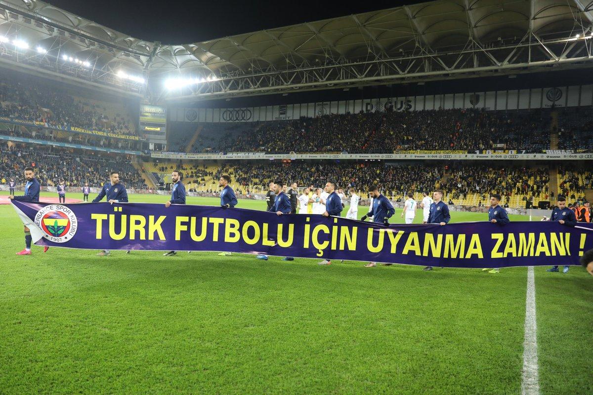 #TürkFutboluİçinUyanmaZamanı