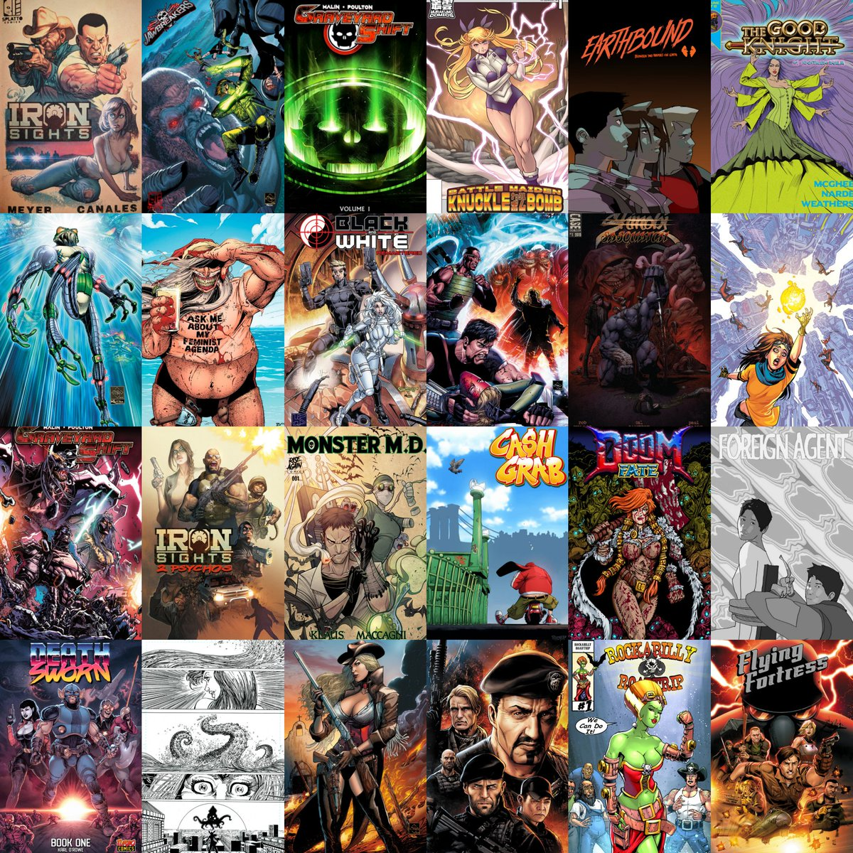 I love this ever growing, talented & fun community  #ComicsGate #comicbooks pic.twitter.com/o5n0FOGTTi