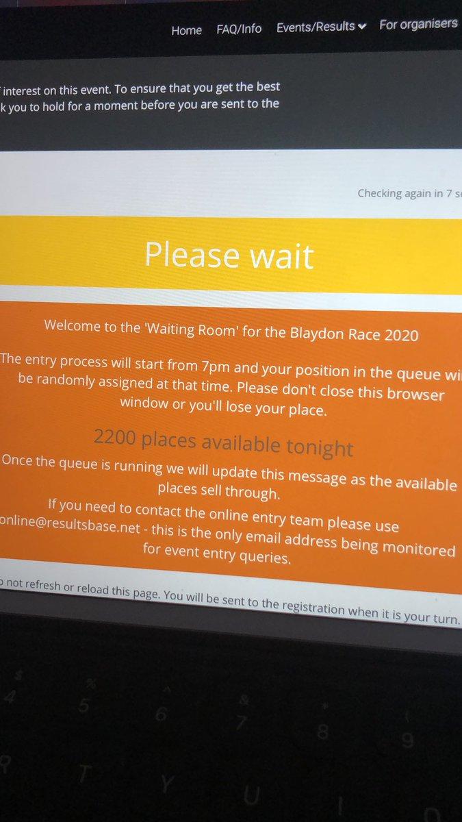 Blaydon Race waiting game 🤞🏻