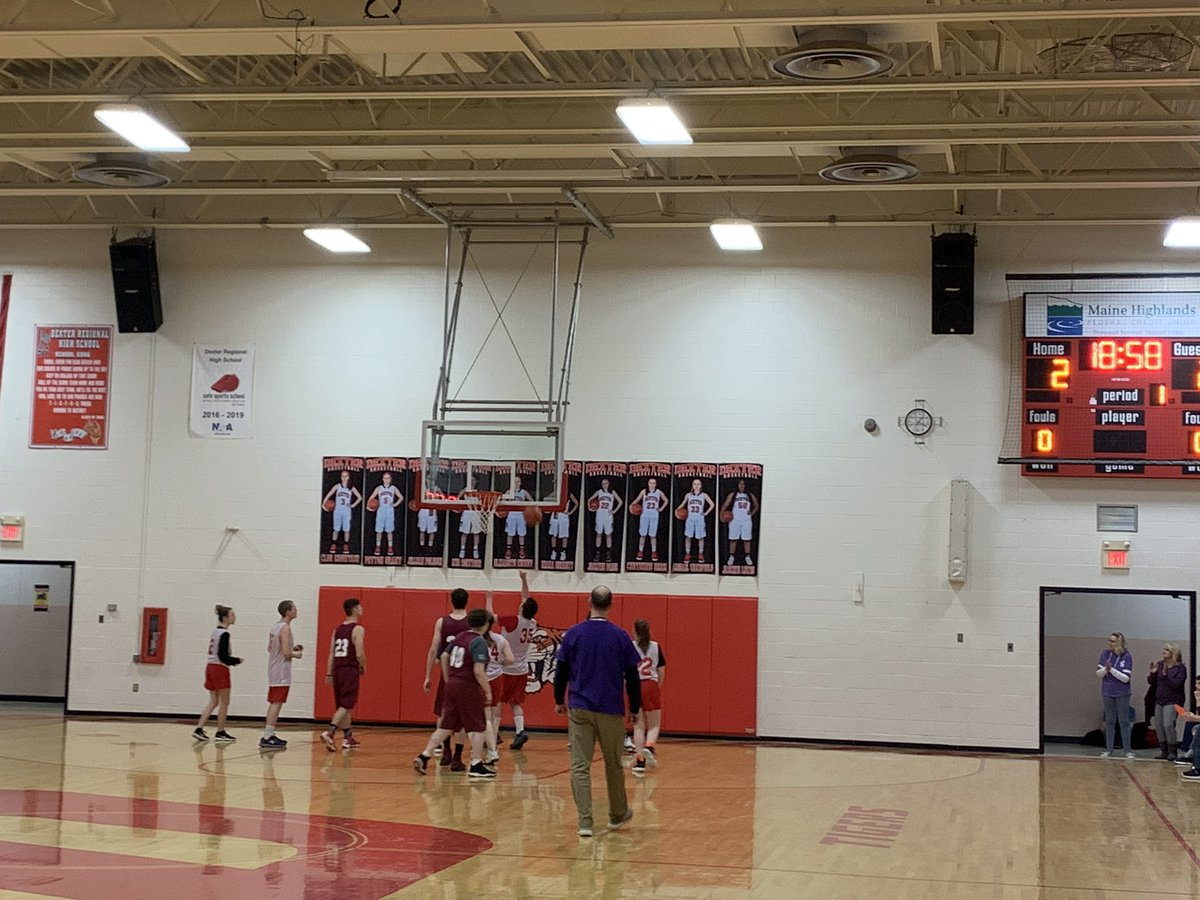 It was a wonderful afternoon watching the Unified Basketball teams of Dexter Regional High School & Nokomis High School play each other. The crowd supported BOTH teams every step of the game. Way to go!  cc @mdoenews  #edchatme